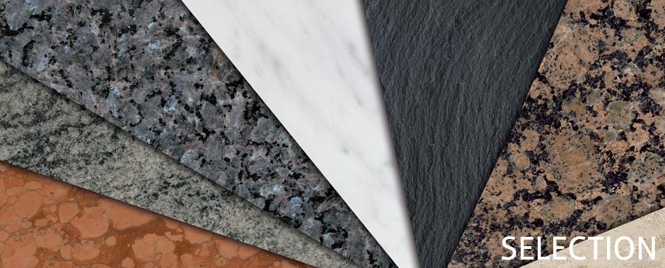 SSG SELECTION Natursteine