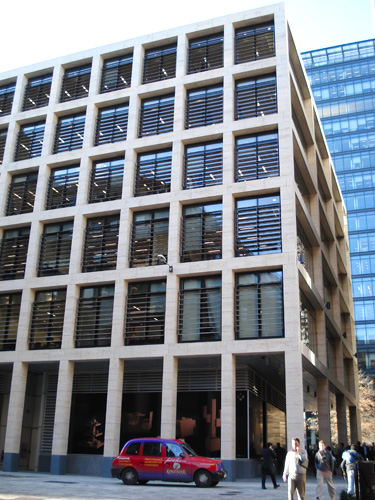 SSG Maxberg® Jura Kalkstein Fassade, New Street Square